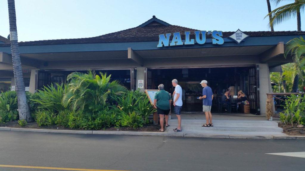 Nalu's Restaurant in Kihei Maui