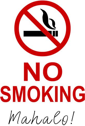 Luana Kai is a No Smoking Property